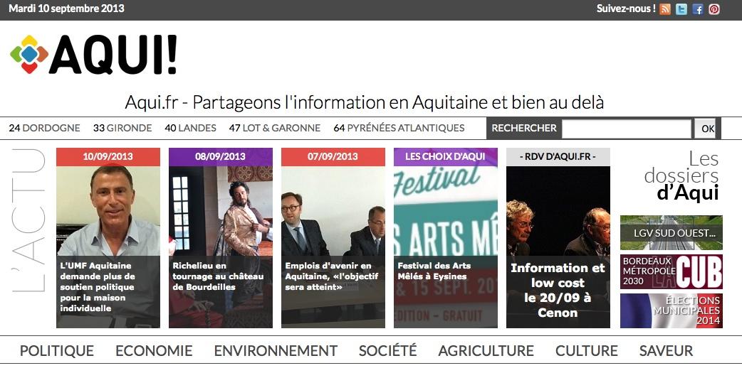Aqui.fr colloque site aqui.fr
