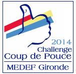 logo Challenge coup de pouce 2014 MEDEF