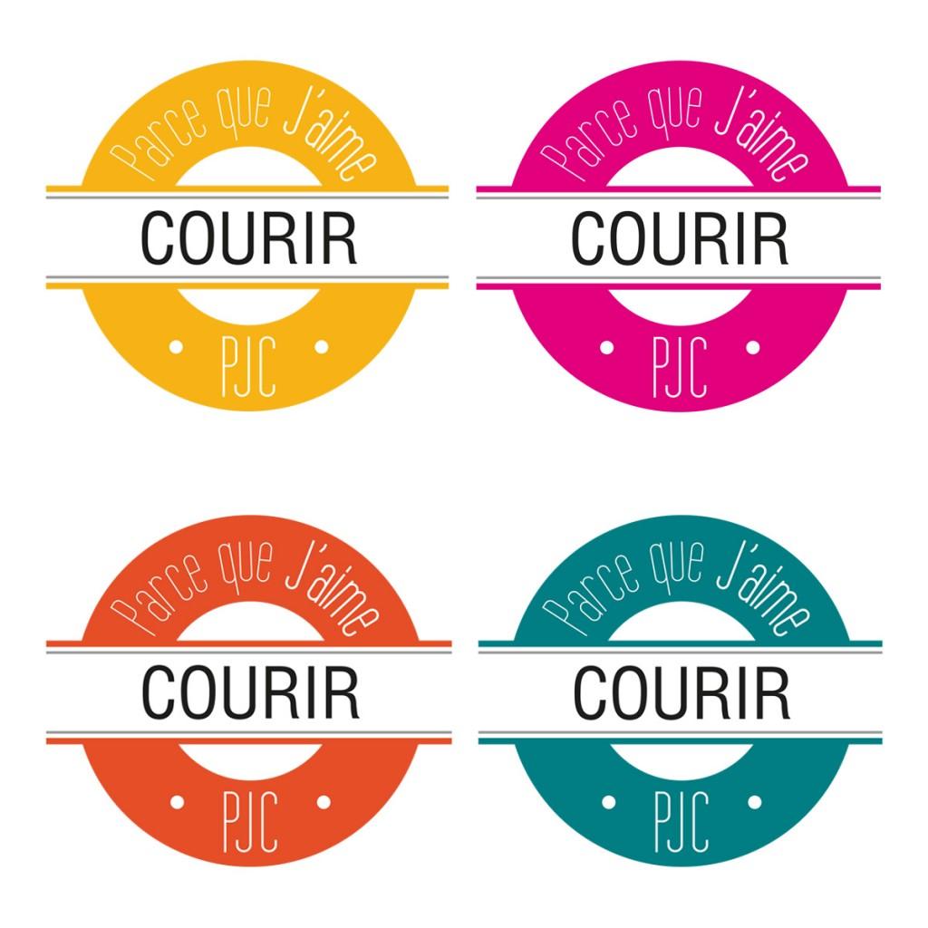 Key visual PJC - courir 4 couleurs