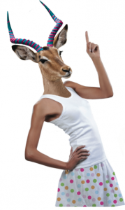 antilope-mascotte