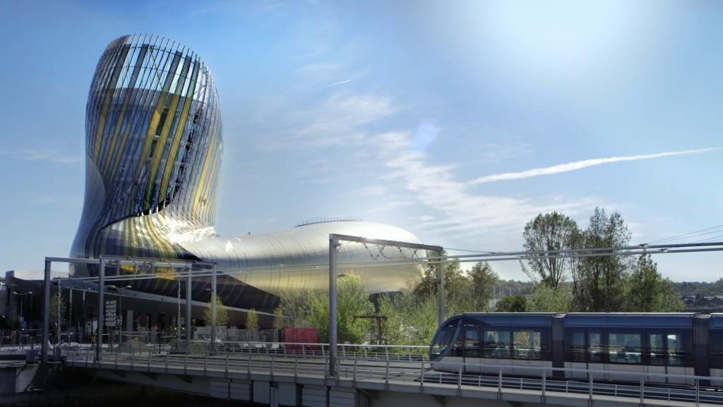 La Cité du Vin-Le Tramway