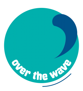 Over the wave