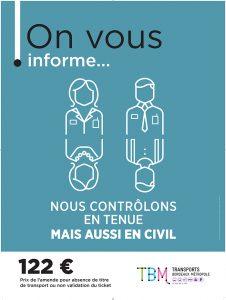 Une des 4 affiches de la campagne d'information de la lutte contre la fraude