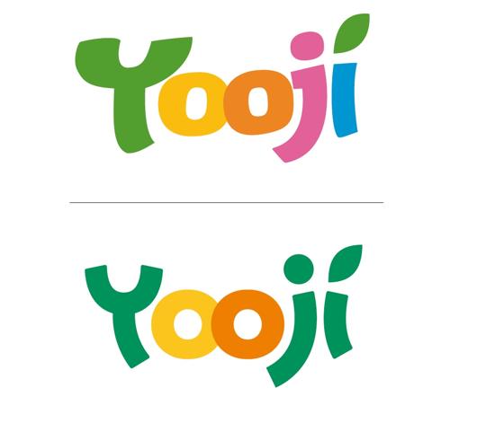 L'ancien et le nouveau logo de Yooji