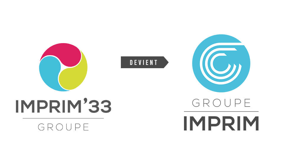 Le nouveau logo du Groupe IMPRIM